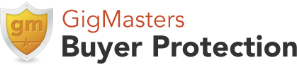 GigMasters Buyer Protection logo