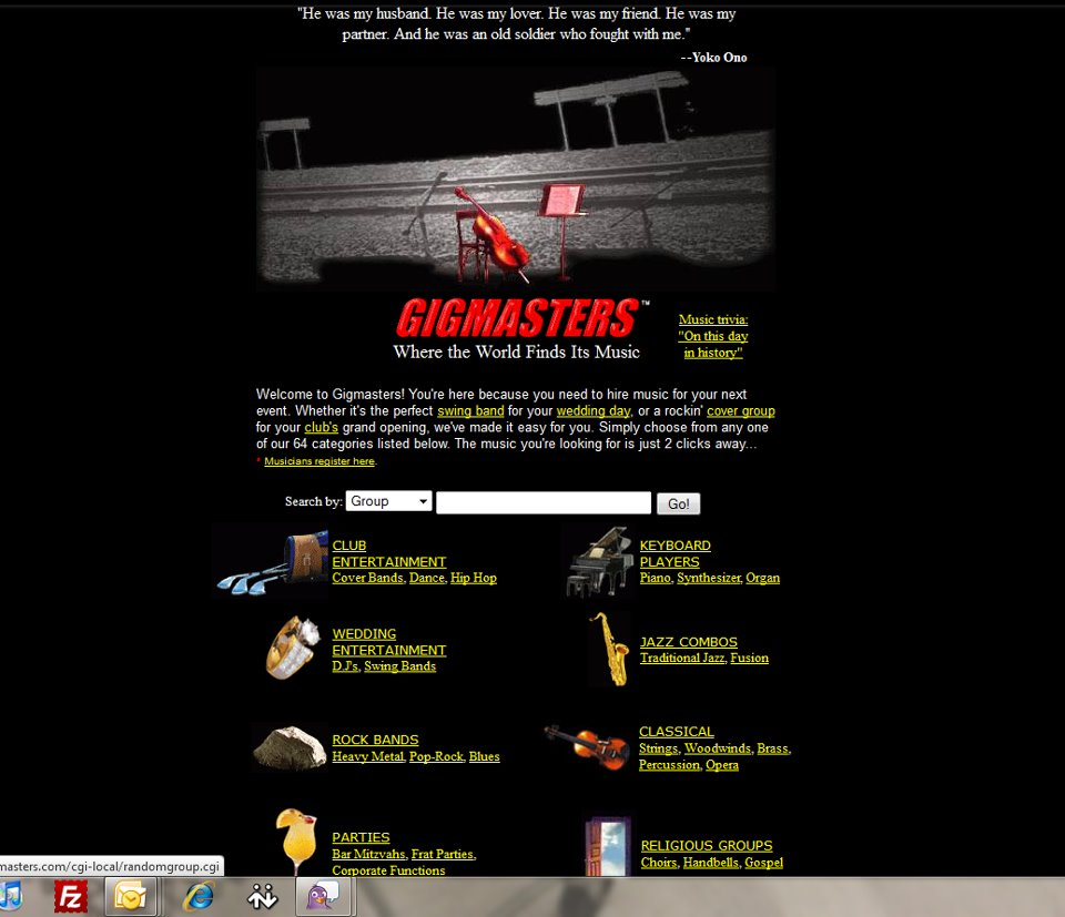 GigMasters Launch