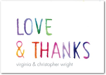 thank you notes from wedding paper divas