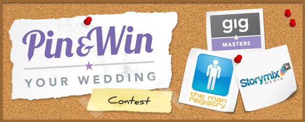 Pin & win your wedding contest on Pinterest
