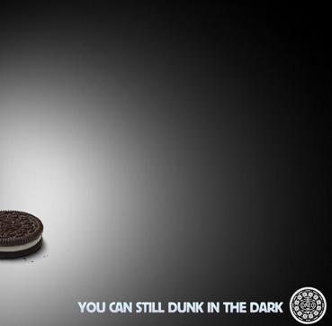 Oreo Blackout Ad